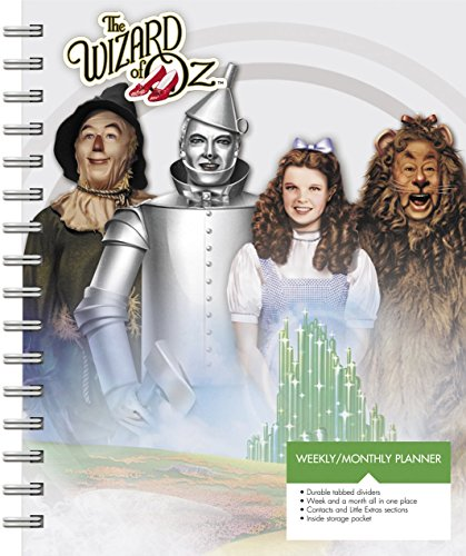 The Wizard of Oz Weekly and Monthly Planner (2017)