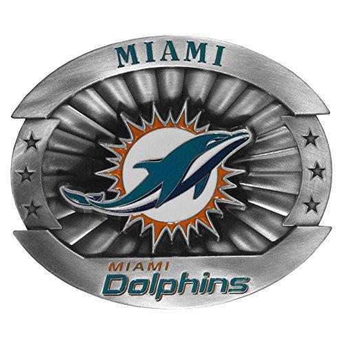 siskiyou-gifts-co-inc-boucle-de-ceinture-homme-taille-unique-multicolore-miami-dolphins