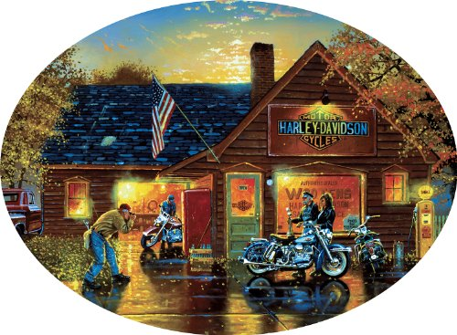 Harley-Davidson 750 Pieces Jigsaw Puzzle