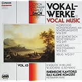 Edition C.P.E. Bach, Vol. 13: Vokal-Werke (I) [Vinyl LP] [Schallplatte]