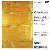 Otto Nicolai: Herr, Auf Dich Traue Ich