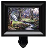 Thomas Kinkade Snow White Discovers the Cottage Nightlight