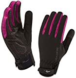 SealSkinz Women's All Weather Cycle Gloves Pink M NEW 2014