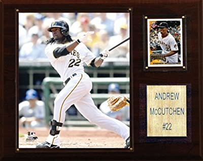 MLB Andrew McCutchen Pittsburgh Pirates Player Plaque