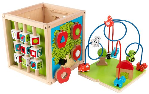 KidKraft Bead Maze Cube - 1