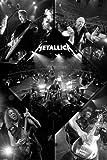 Empire 539892 Metallica - Live Musik-Poster - Heavy Metal Hard Rock - Maxiposter Größe 61 x 91.5 cm
