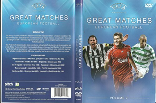 Great Matches of European Football - Vol 2