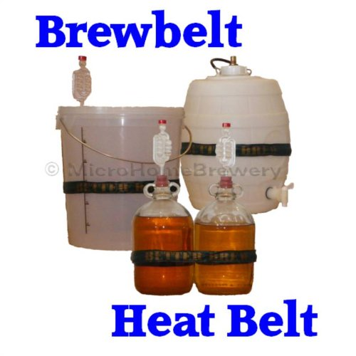 Brewbelt Homebrew Heat Belt Bucket Barrel Keg Demijohn Wine Beer Cider Making UK