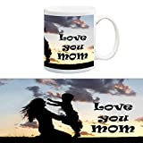 TIA Creation Love You Mom gift for Mom Mug, Best for Everyday Gifts