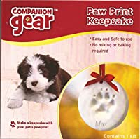 Royal Pet Incorporated 70060 Companion Gear Paw Print Keepsake