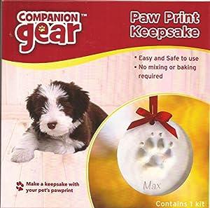 Royal Pet Incorporated 70060 Companion Gear Paw Print Keepsake