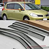 2007 2008 2009 2010 2011 2012 Hatch Wind Deflector Visor Vent Sun Rain Guard Door Window Fit For Nissan Versa Tiida