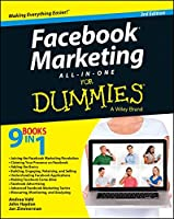 Facebook Marketing All-in-One For Dummies, 3rd Edition Front Cover