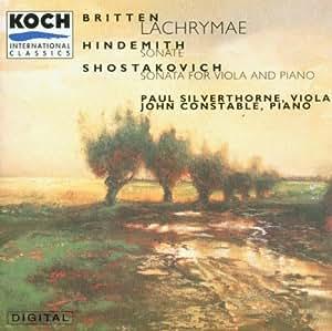 Britten;Lachrymae/Hindemith;So