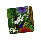 PosterGuy Summer Wild Flowers Illustration Coaster