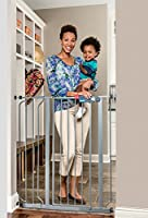 Regalo Deluxe Easy Step Extra Tall Gate, Platinum from Regalo