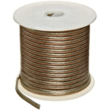 Speaker Copper Wire, Clear PVC Insulation