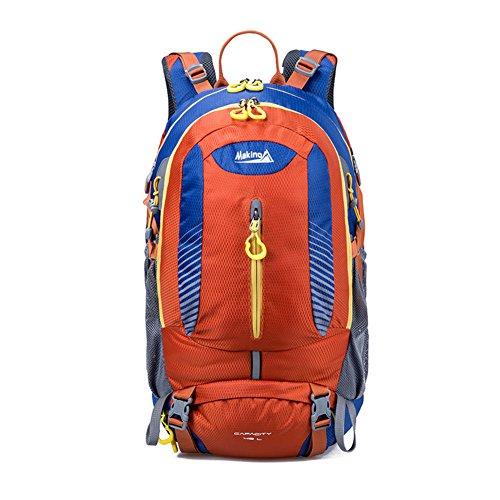 escalade extérieur épaules sac à dos / sac Voyage-Orange 1 40L