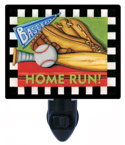 Sports Night Light - Home Run - Baseball front-1066091
