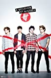 img - for 5 Seconds of Summer Poster Red X Vertical 22x34 book / textbook / text book