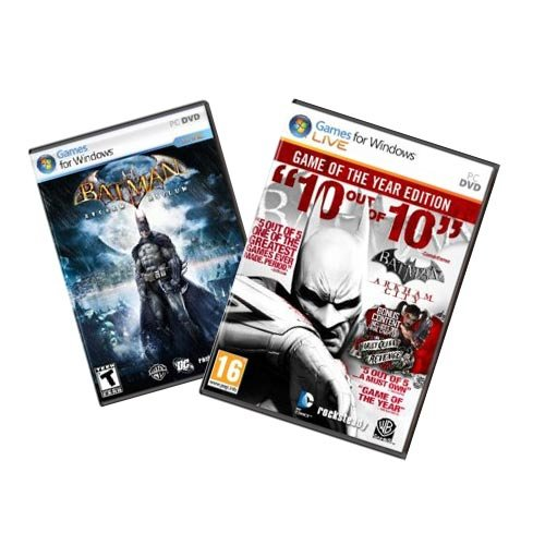 Batman Arkham GOTY Pack [Download]
