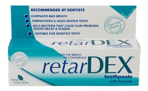 Retardex 75ml Toothpaste With Flouride (Pack of 2)