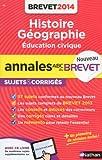 ANNALES BREVET 2014 HIST/GEO/E