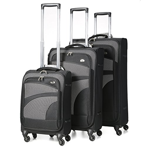 aerolite-super-lightweight-4-wheel-spinner-luggage-suitcase-travel-trolley-case-black-grey-21-cabin-