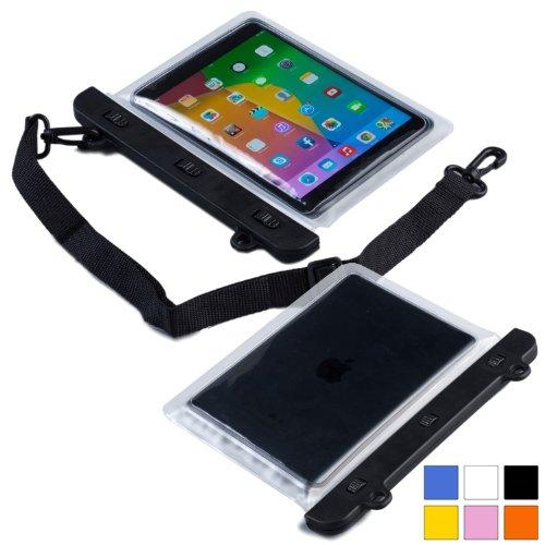 Cooper Cases(TM) Voda Prestigio MultiPad 2 Pro Duo 7.0 / 8.0 3G Wasserdichte Tablethülle in Klar (Leicht, berührungsempfindliches Sichtfenster, verstellbarer Schultergurt)