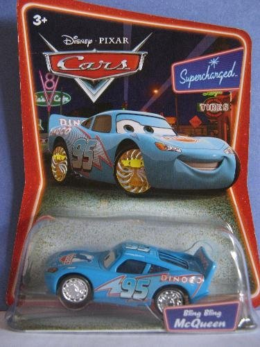 Disney's Pixar Cars Super Charged Bling Bling McQueen - 1