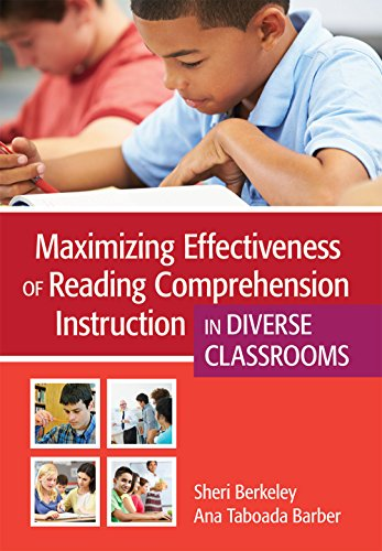 Maximizing Effectiveness of Reading Comprehension Instruction in Diverse Classrooms PDF