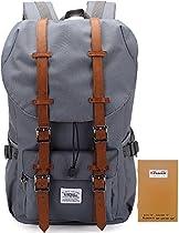 KAUKKO New Feature of 2 Side Pockets Outdoor Travel Hiking Backpack Laptop Schoolbag for Men and Women  Von KAUKKO