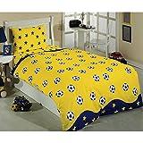 Samyeli 2060-3-Juego de cama para cama individual (160x 220cm, Multi Color)