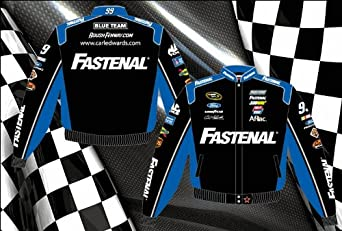 Carl Edwards Fastenal Mens Twill 2013 Nascar Jacket by RacingGifts