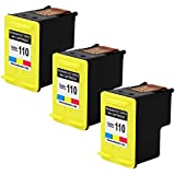 ValueToner Remanufactured Ink Cartridge Replacement for HP CB304AN (Tri-Color,3-Pack)