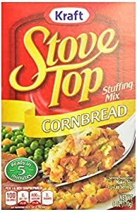 Stove Top Stuffing Mix, Cornbread, 6 oz.Boxes, 12 Count