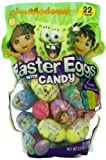 Nickelodeon Easter Eggs with Candy, Dora, Diego, and SpongeBob, 22 Eggs