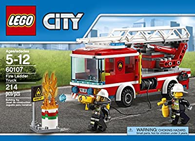 LEGO CITY Fire Ladder Truck 60107 by LEGO