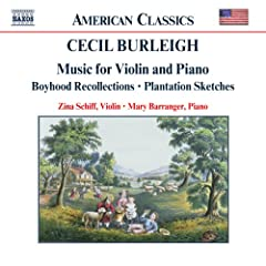 Burleigh: Music For Violin And Piano