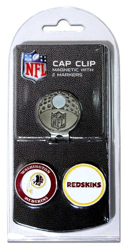 NFL Washington Redskins Cap Clip With 2 Markers