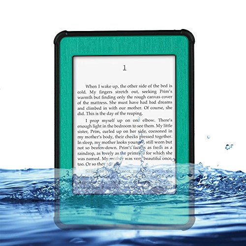 Redpepper Kindle Paperwhite Case Cover Waterproof Dirtproof Snowproof Shockproof Box Hard Tablet Shell for Amazon Kindle Paperwhite eReader (Cyan)