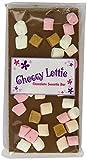 Choccy Lottie Caramel Lumpy Road Chocolate Bar 100 g (Pack of 5)