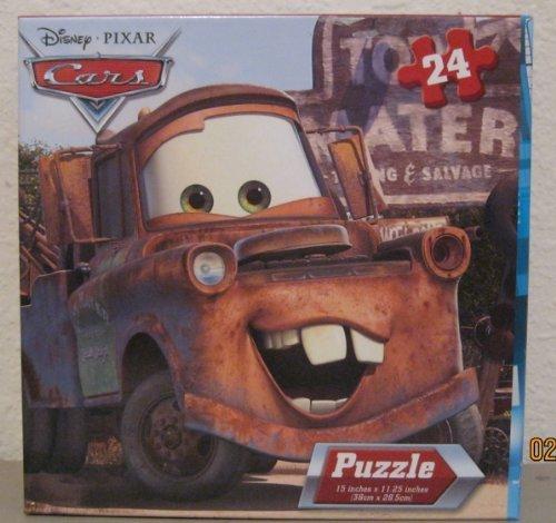 Disney Pixar Cars 24 Piece Puzzle - Lightning McQueen & Tachometer - 1