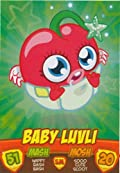 BABY LUVLI Monsters - Series 2 Moshi Monsters Mash Up Trading Card.