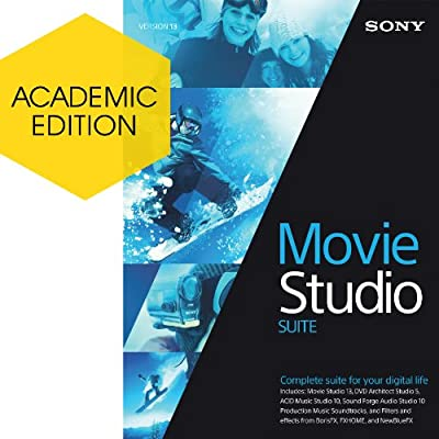 Sony Movie Studio 13 Suite - Academic Version [Download]