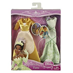 Doll Clothes - Disney Princesses : Tiana Evening Gown