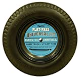 Marathon Industries 00210 Universal Fit Flat Free Hand Truck/Utility Tire, 2-1/4-Inch Offset Hub Length, 5/8-Inch Bearings, Spacer/Bushing Kit Included
