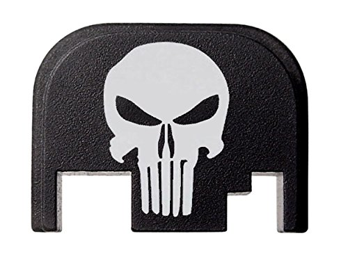 Fixxxer Rear Cover Plate for Glock, fits most Glock models. (GLOCK, Tactical Skull) (Glock Slide Plate Cover compare prices)