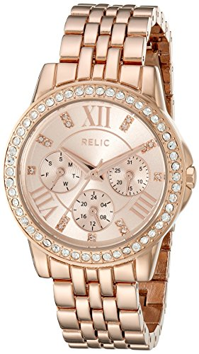 Relic Women's ZR15755 Layla Rose Gold