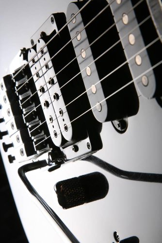 Electric Guitar Wall Decal - 60 Inches H X 40 Inches W - Peel And Stick Removable Graphic